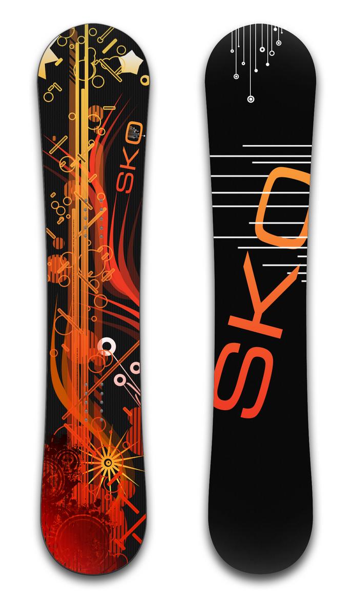 "Snowboard ""Vecto"" by SkoRuPa-9"