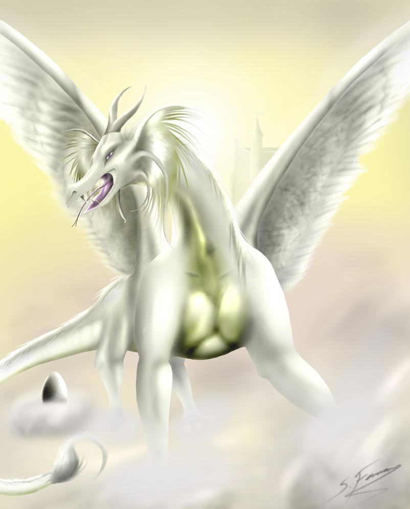 Dragons of the Clouds by SeanFarnam