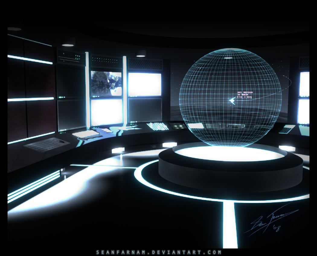 single person bridge sci fi spacecraft - photo #46