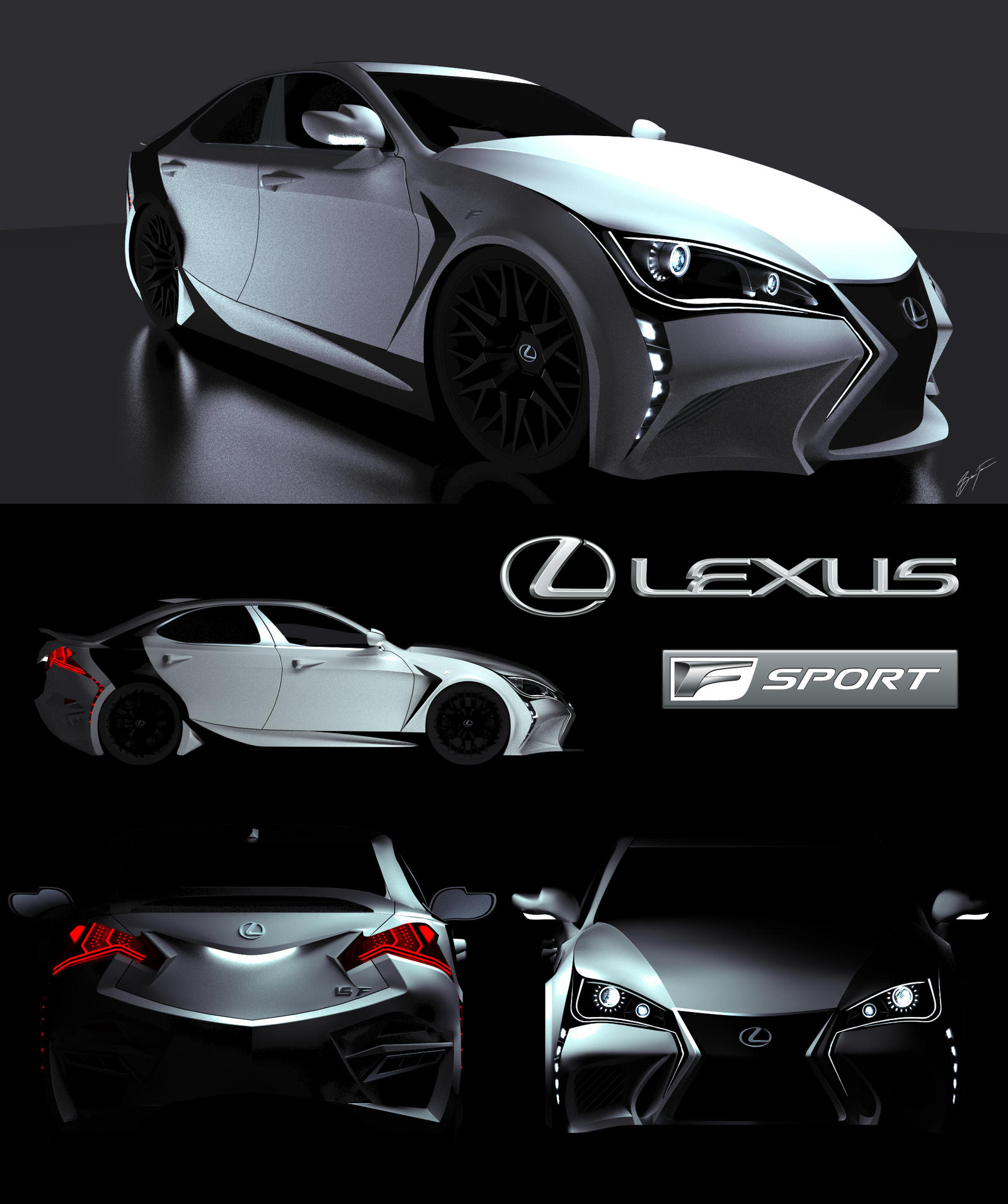 Lexus IS-F Sport by SeanFarnam