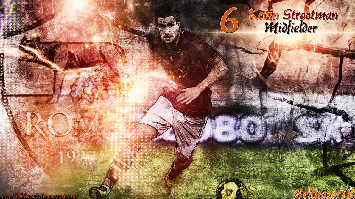 Kevin Strootman Wallpaper by Belthazor78 on DeviantArt