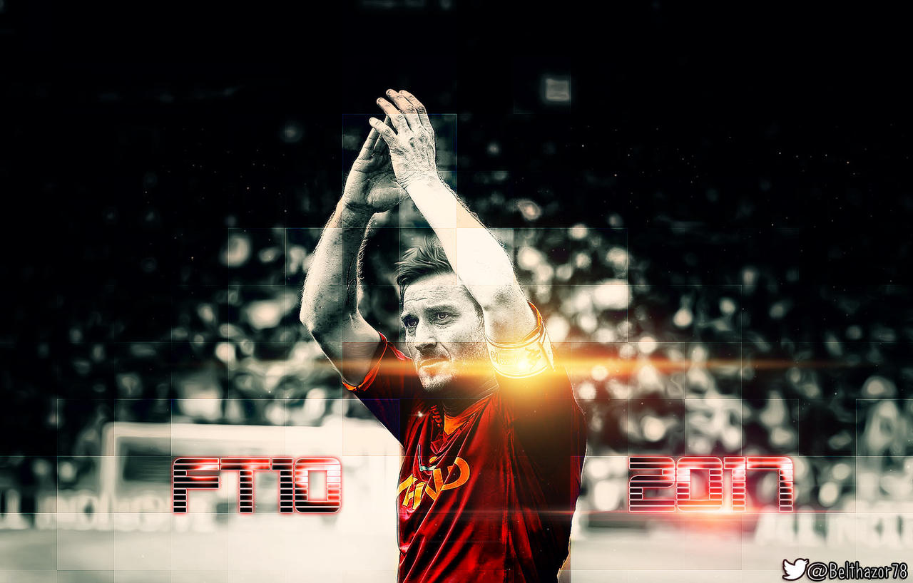 Francesco Totti till 2017 by Belthazor78 on DeviantArt
