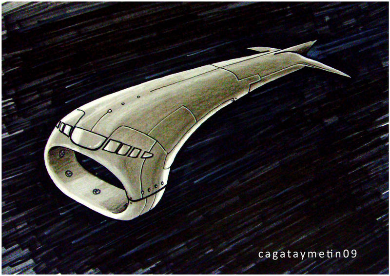 spaceship design by cagataymetin