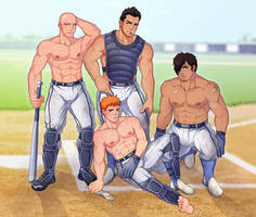 [FAN ART] Men of Bleach by blueglueclue