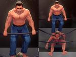 [COMMISSION] Cain vs Duke by blueglueclue