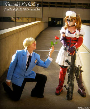 Tamaki x Harley: Flower