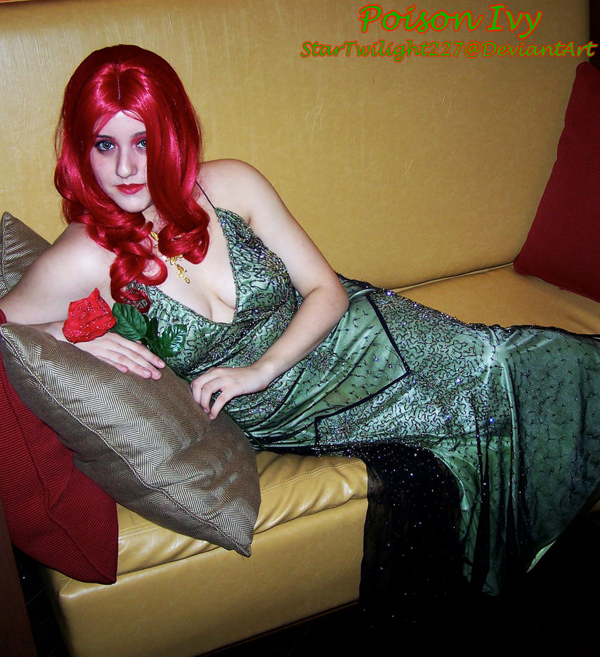 Poison Ivy: Couch by Damek0Masca