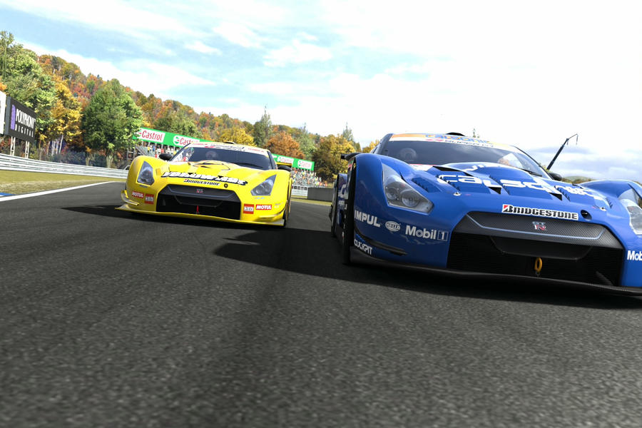 super GT rivals by JoshuaCordova