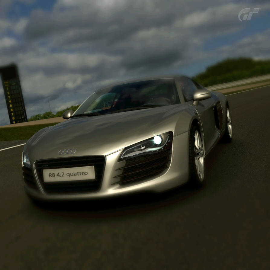 Audi r8 2 by JoshuaCordova