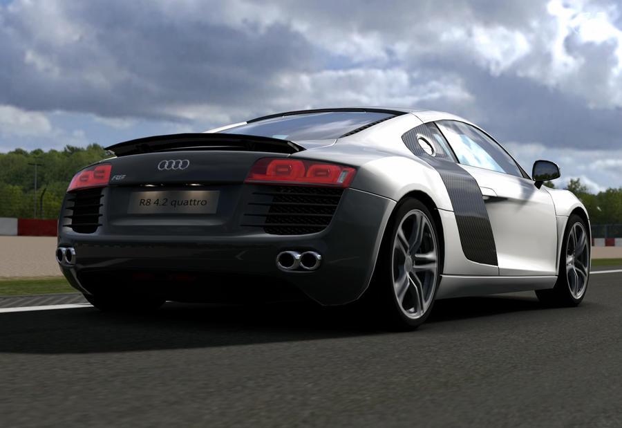 Audi r8 3 by JoshuaCordova