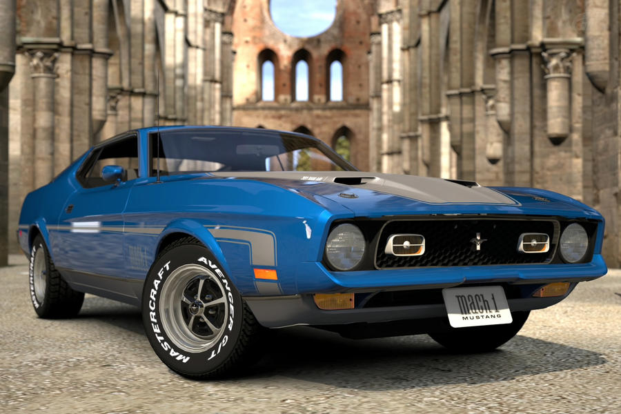ford mustang mach 1 by JoshuaCordova