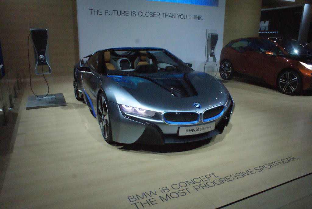 BMW i8 by JoshuaCordova