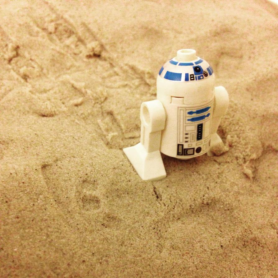 Wandering around tatooine  by JoshuaCordova
