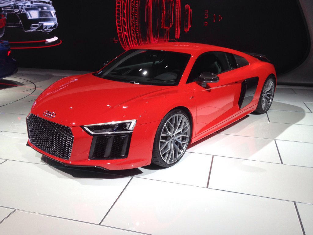Red R8 by JoshuaCordova