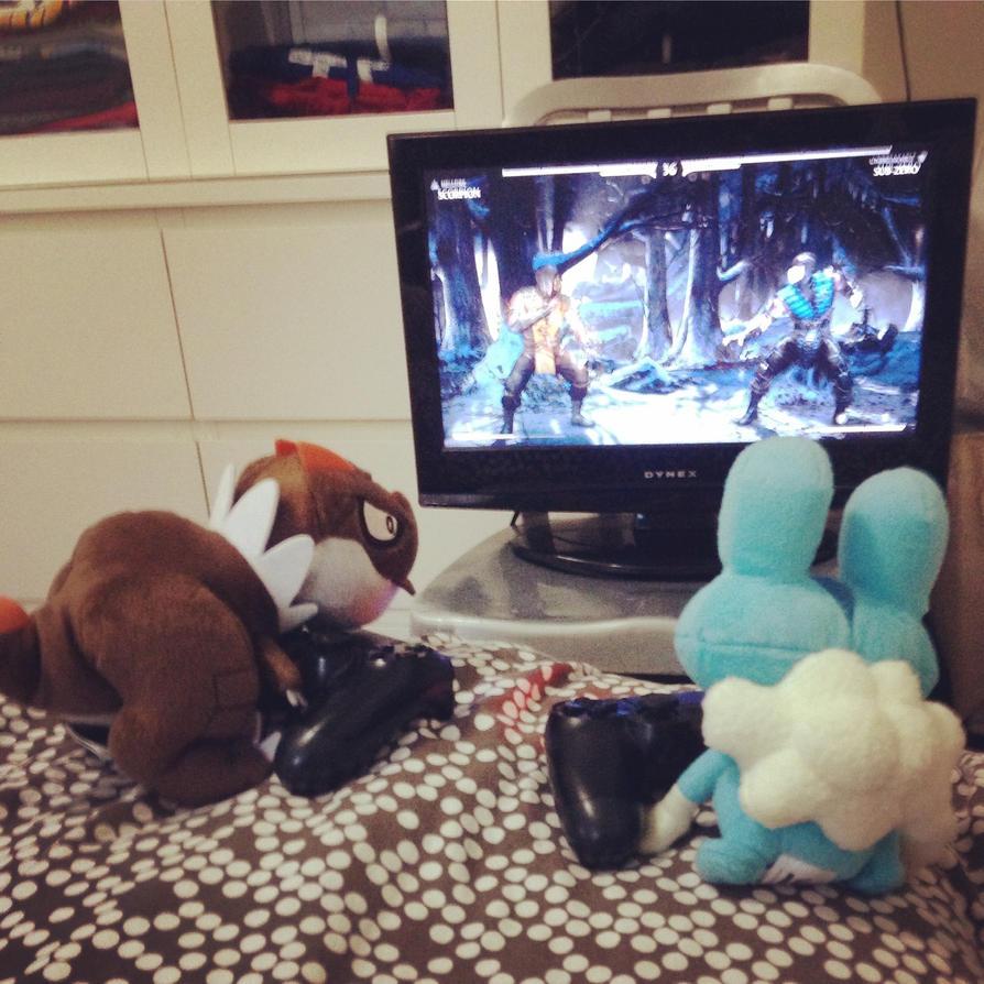 Reverse Pokemon battle 2 by JoshuaCordova