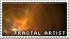 Fractal Artist Stamp