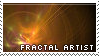 Fractal Artist Stamp by DeviousGoodies