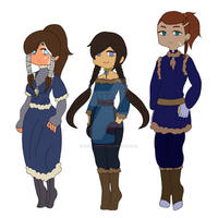 ATLA Adoptables: Water Tribe {3/3 open}