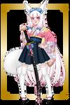 Tomoko Yamada (kitsune form) by Hime-Takamura