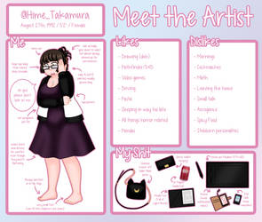 Meet the Artist by Hime-Takamura