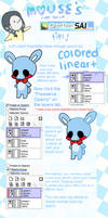 Mouse's Quick Paint Tool Sai Tips