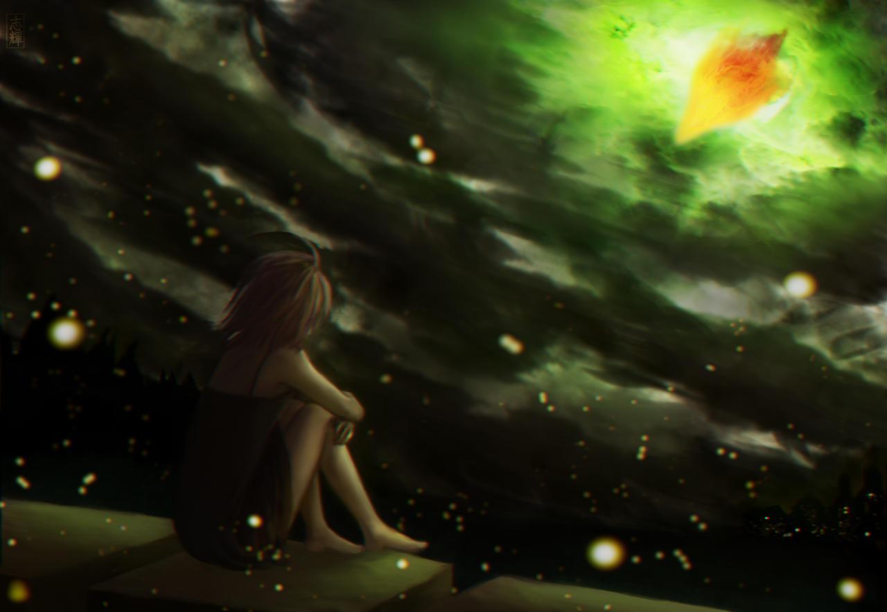 Dragon's Arrival by ShikiOwl