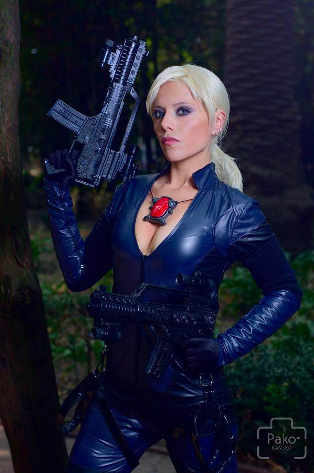 Jill Valentine Re5 Battle Suit By Tutykpuny By Tutykpuny On
