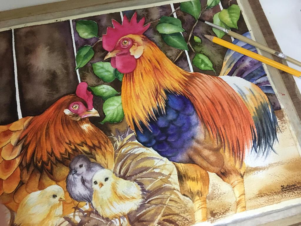Chicken by ThutDARA