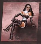 Burlesque Nun