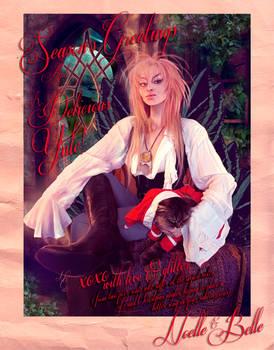 A Very Labyrinth Christmas Card