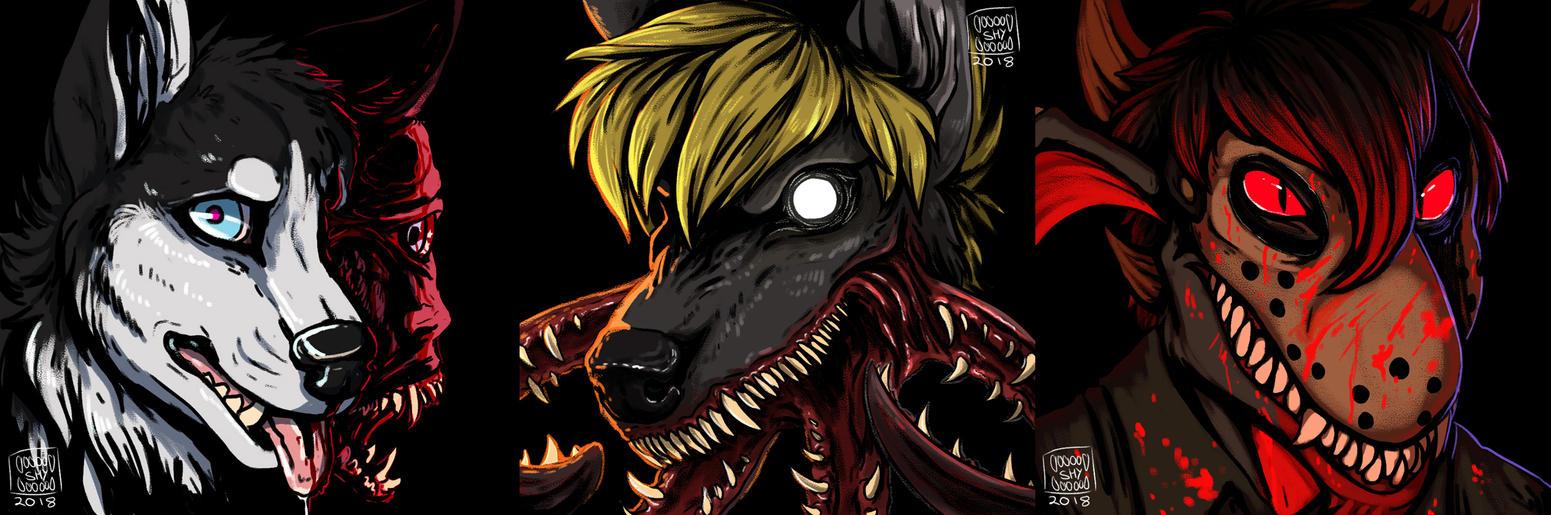 Creepy Icons by PrettyFlyShyGuy