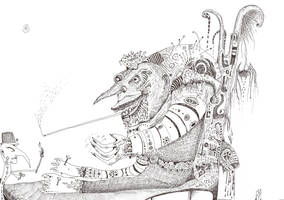 Emperor Frogulus by SittingBuddha