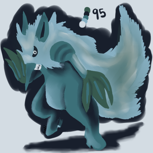 Day 17 - Shiftry by DragonCuali