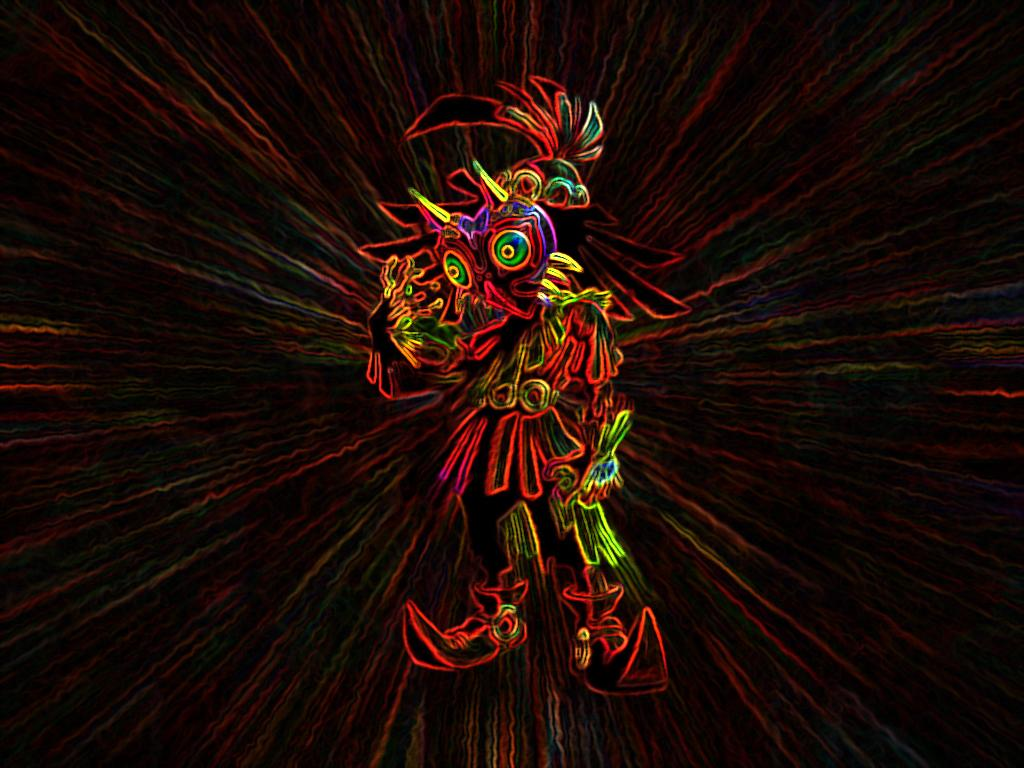 Skull Kid Wallpaper By Sentient Ziggy