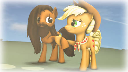 Steve and Applejack Finale