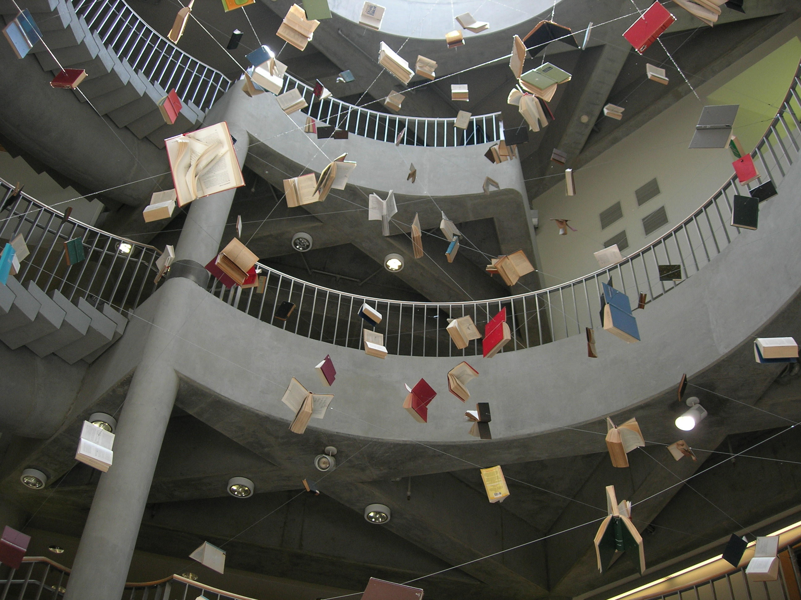 flying books: freedom to read by knows-flower on DeviantArt