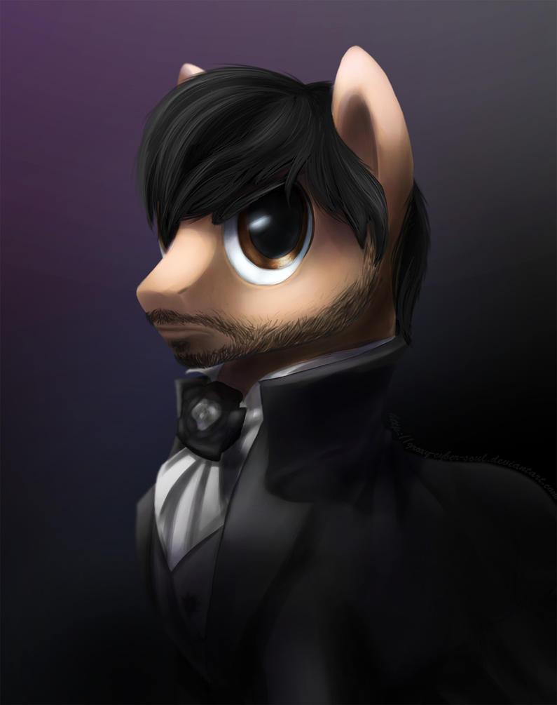 Portrait of Antonio Salieri by Groxy-Cyber-Soul