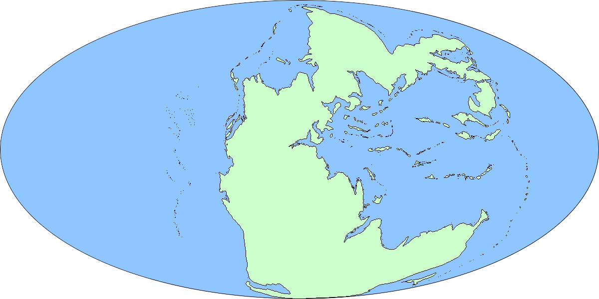 Triassic UCS Map By RichMill On DeviantArt