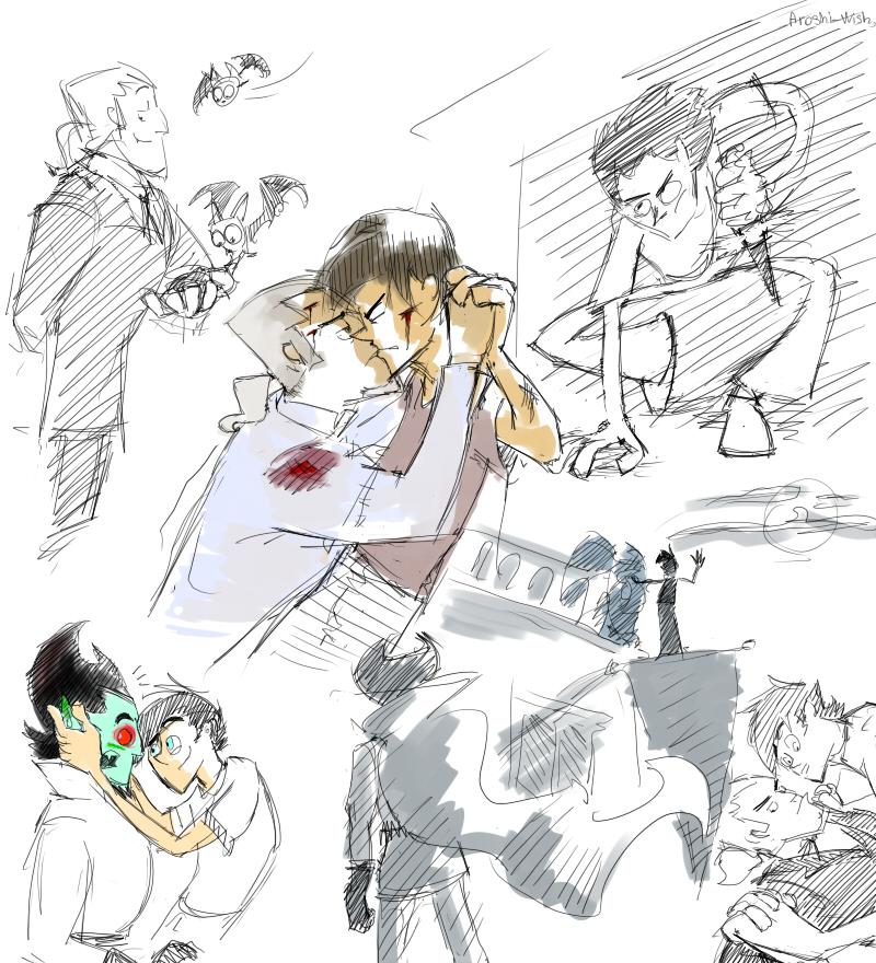 DP: VD sketch dump by Aroshi-Wish