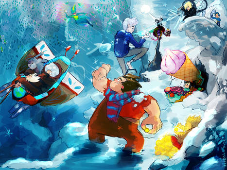 WIR and ROTG: Snowfight.