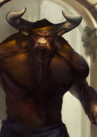 Minotaur by fcanales