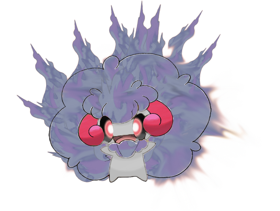 Ghost Fire Whimsicott by asuka-S