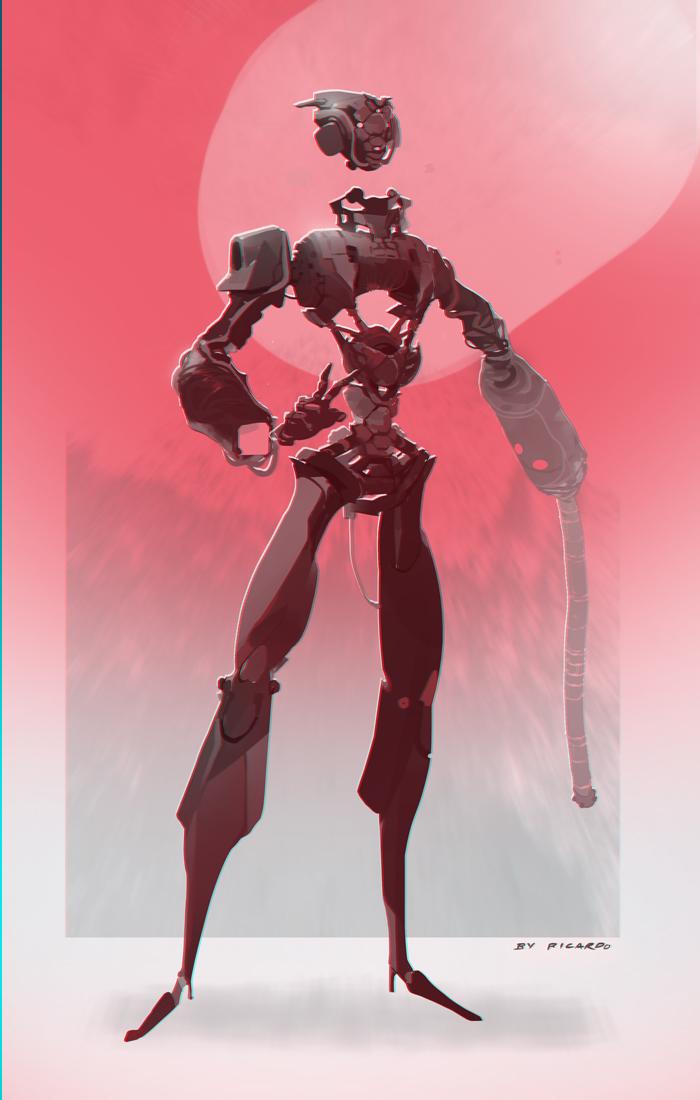 Redrobot by Rukkits