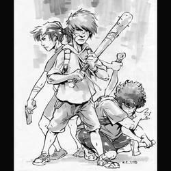 The three amigos by Rukkits