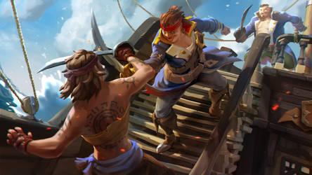 KeyArt swordFighting SOT by Rukkits