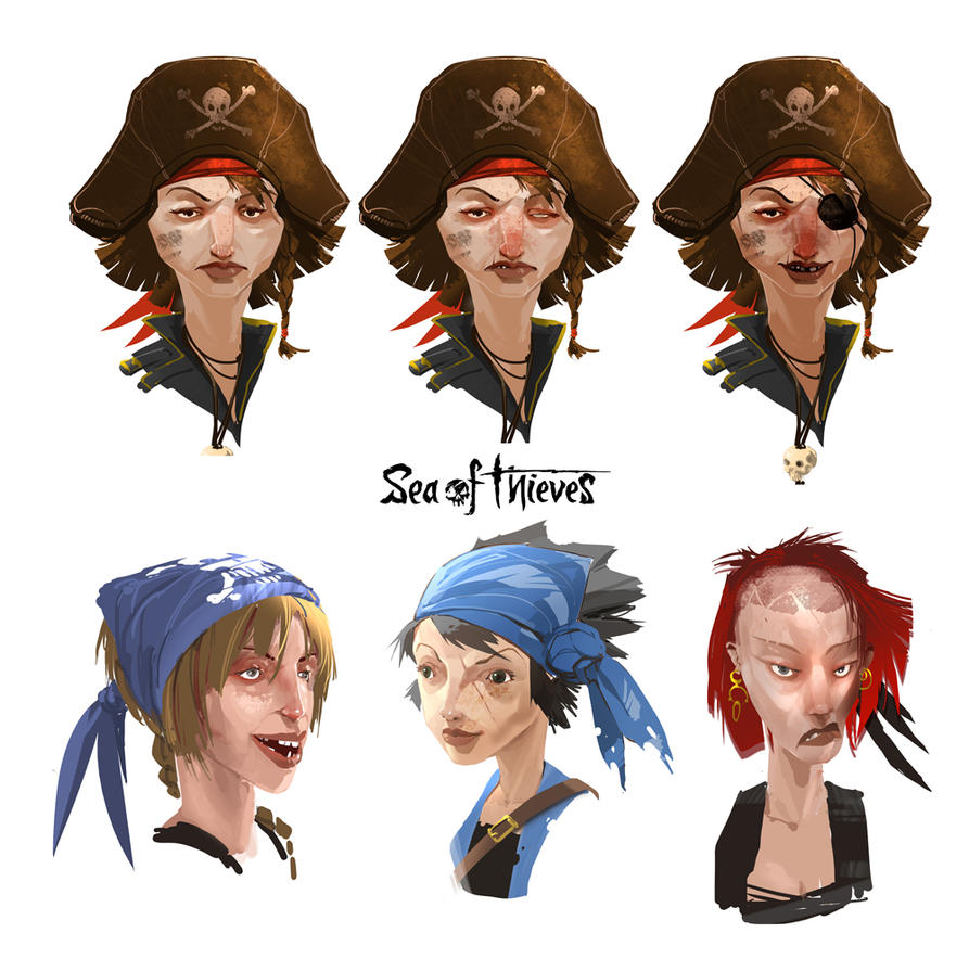 Sea Of Thieves_Art style exploration by Rukkits