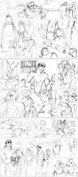 Old, Unfinished Comics. by tojisuzuhara