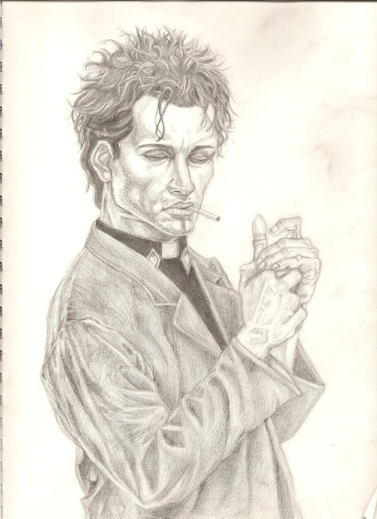 Preacher Jesse Custer by Antu