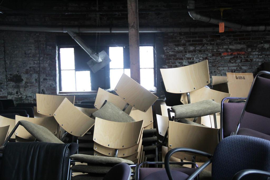 Creepy Chair Room by Antu