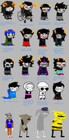 Homestuck according to... by Hipster-Fish